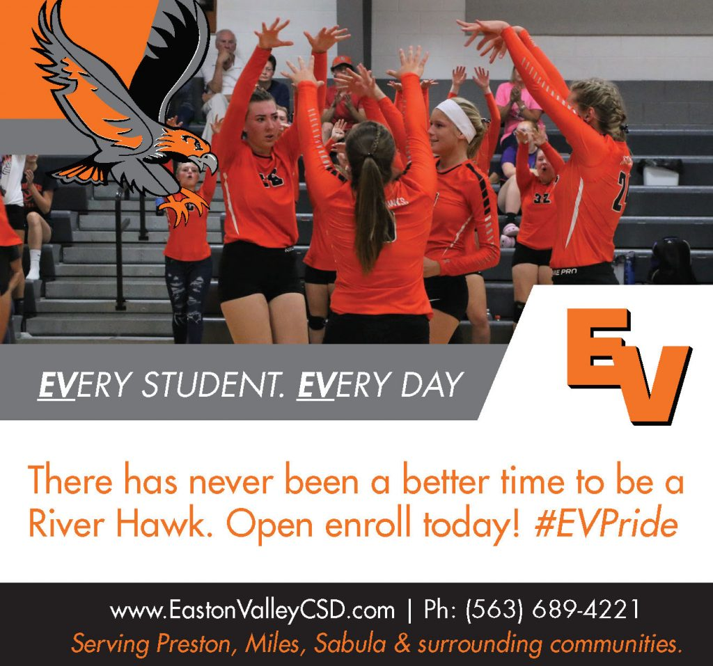 Easton Valley - Newspaper ad