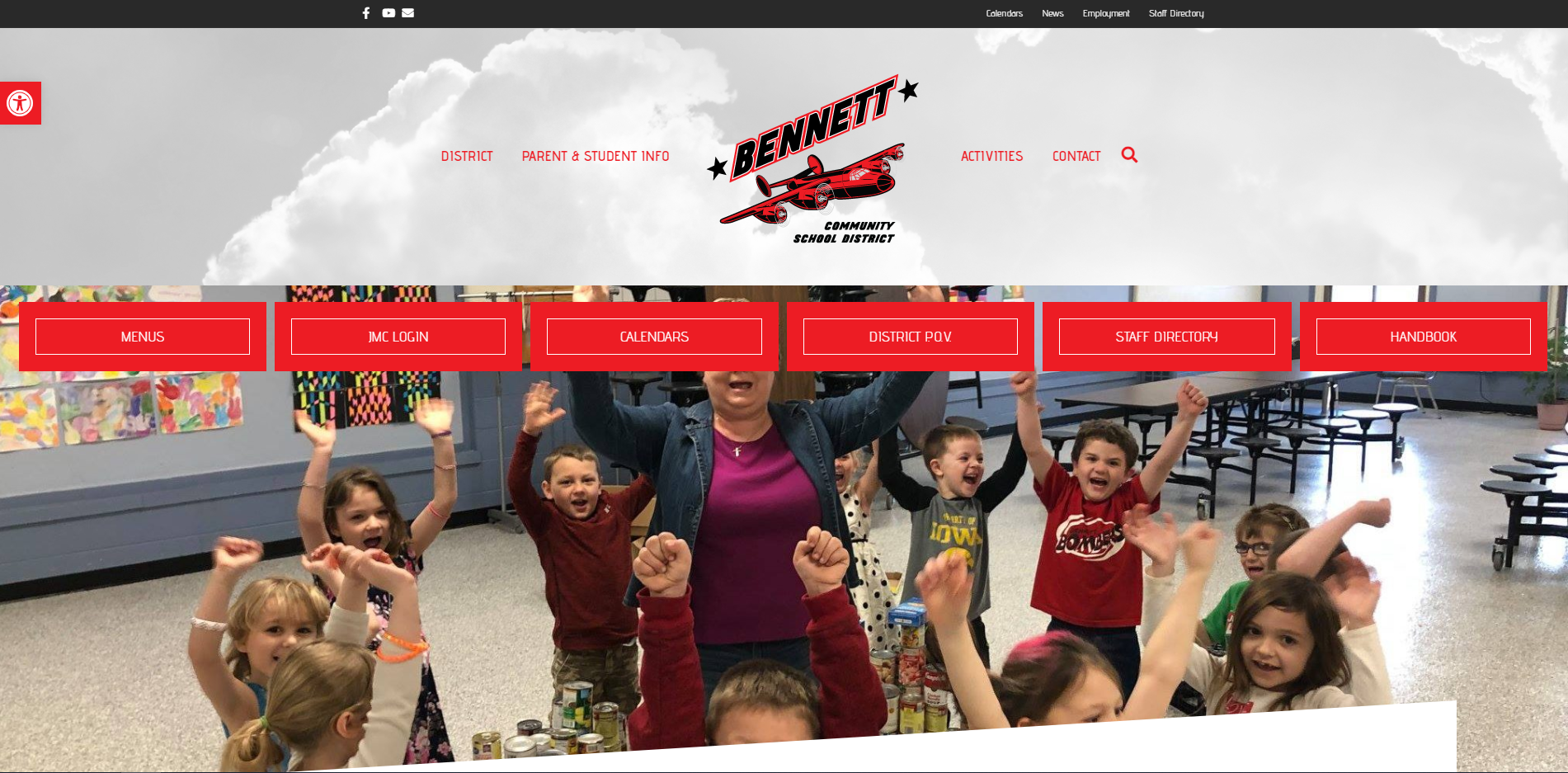 Bennett CSD - New Website