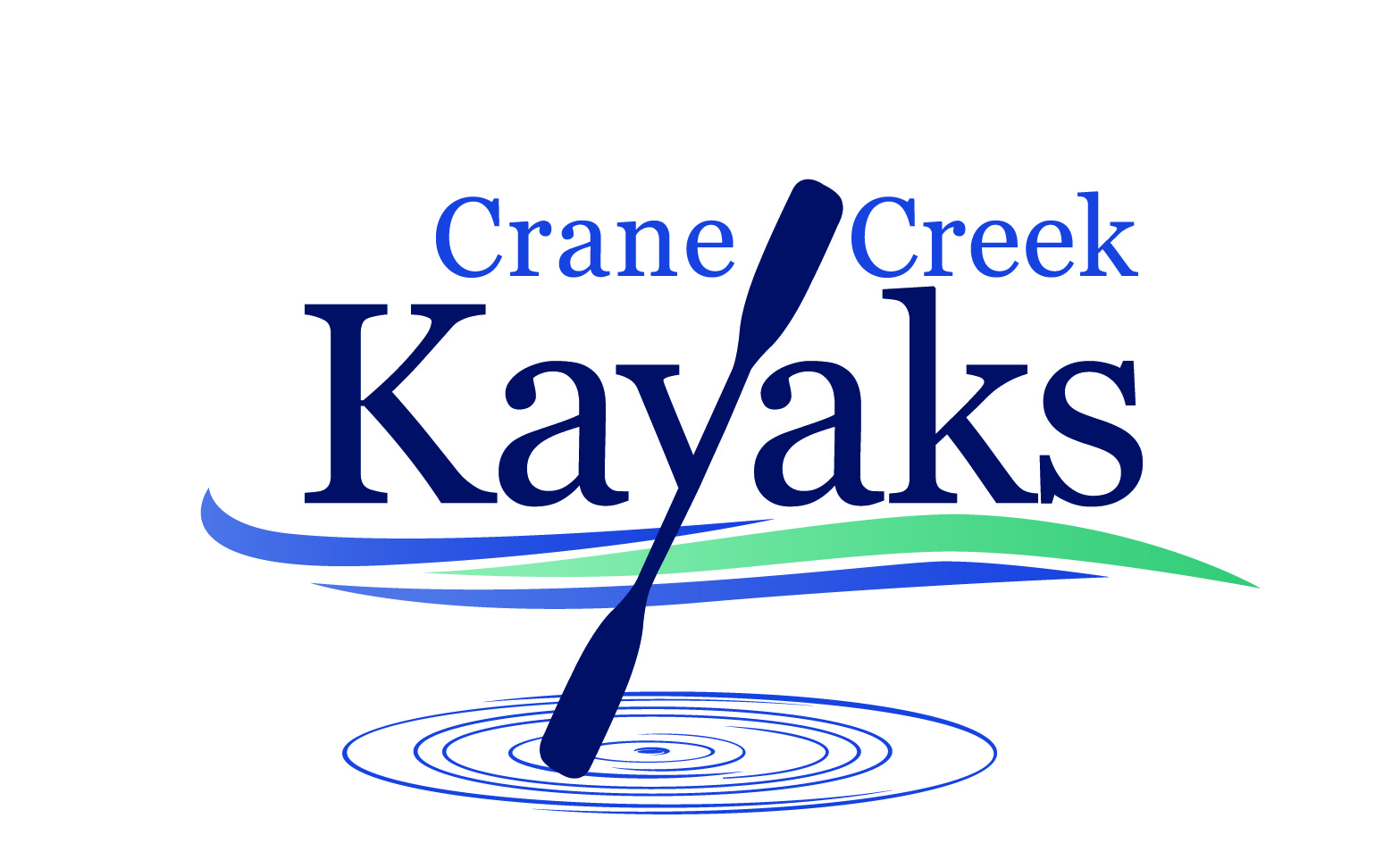 Crane Creek Kayaks Logo