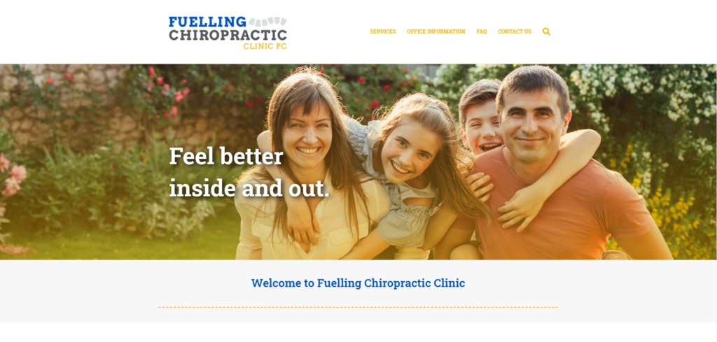 Fuelling Chiropractic - Website