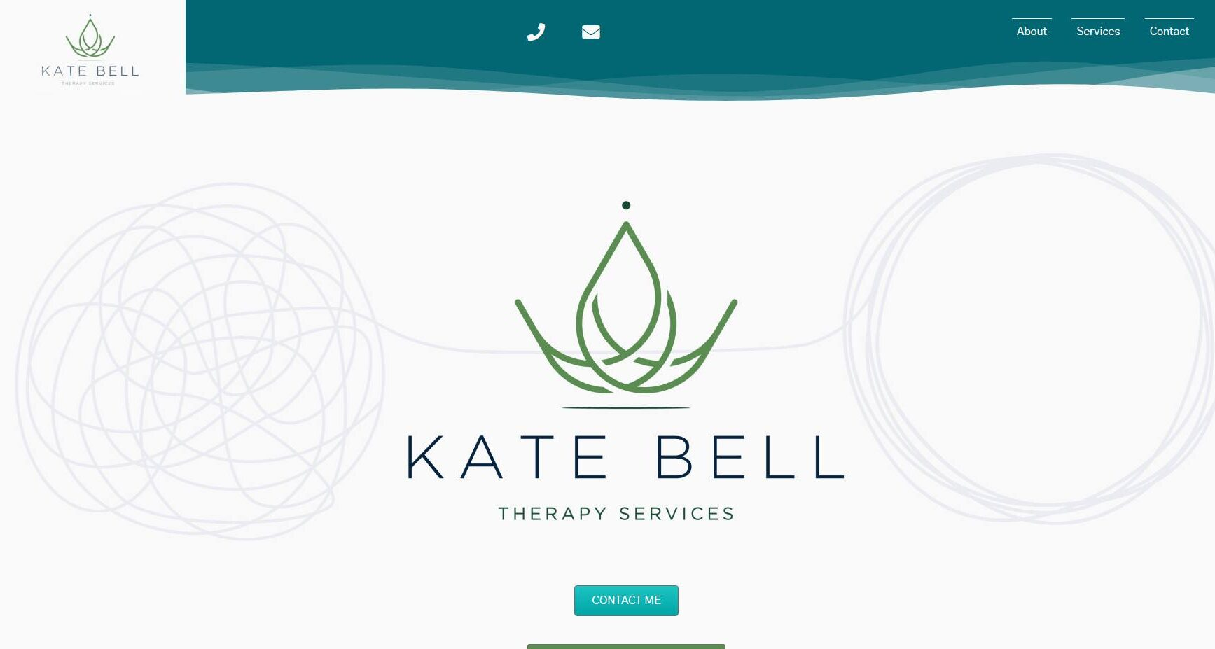 Kate Bell Therapy Services - Website