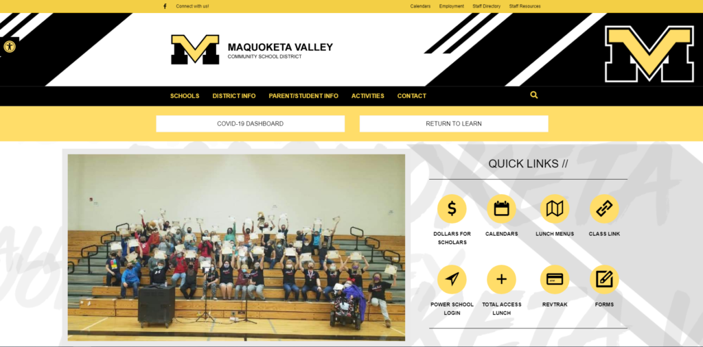 Maquoketa Valley CSD - Website
