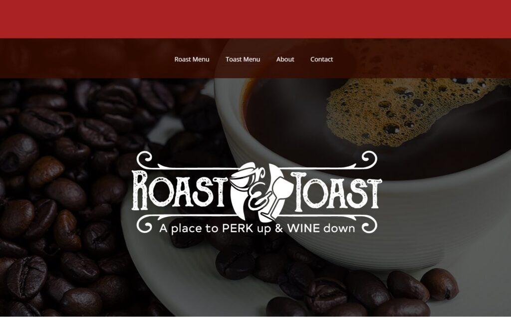 Roast and Toast - Website