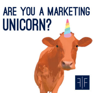"Unicorn Cow - ""Are you a marketing unicorn?"""