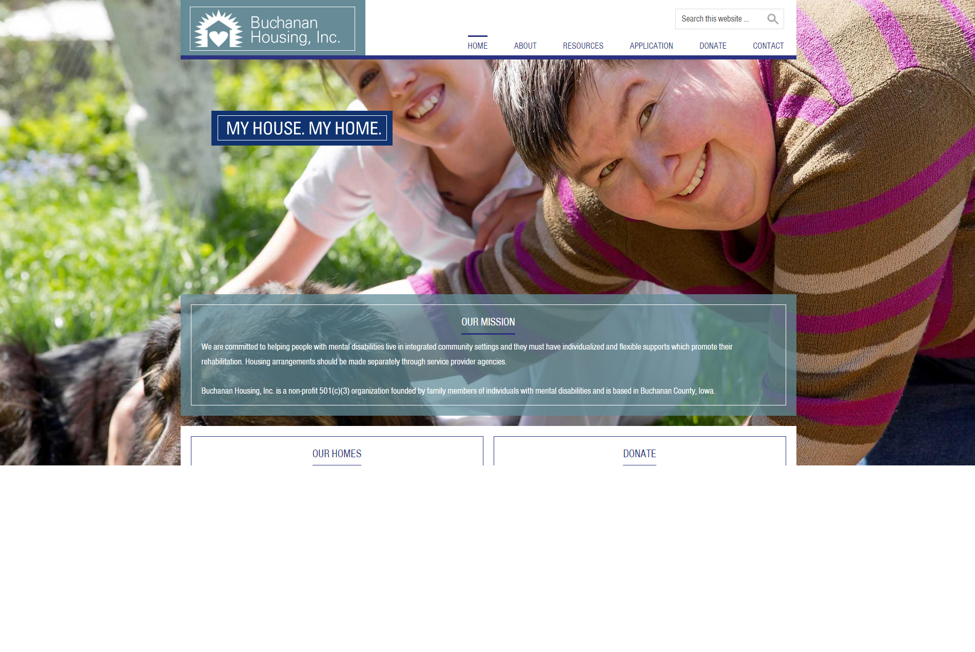 Buchanan Housing, Inc. - Website
