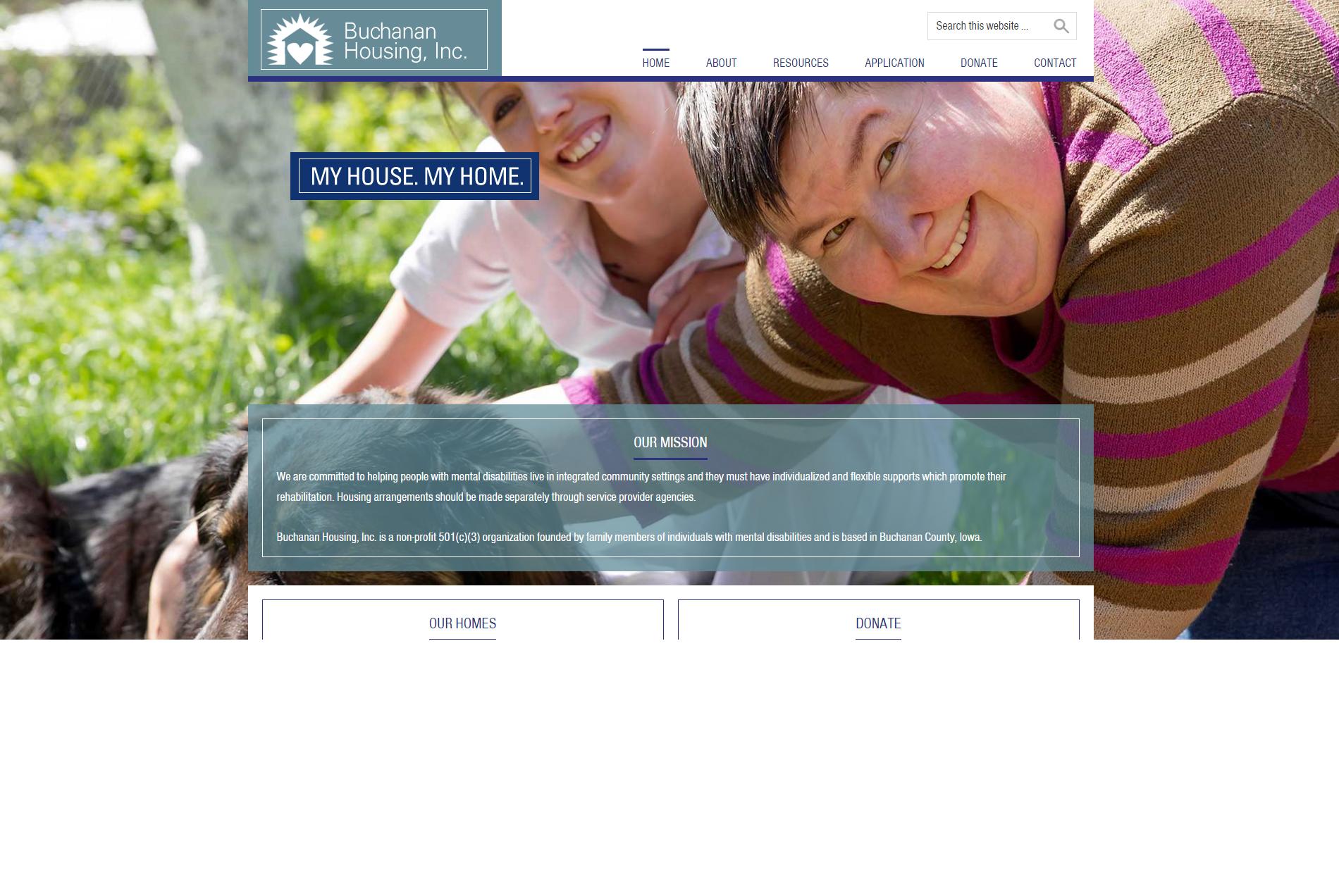 Buchanan Housing, Inc. - Website