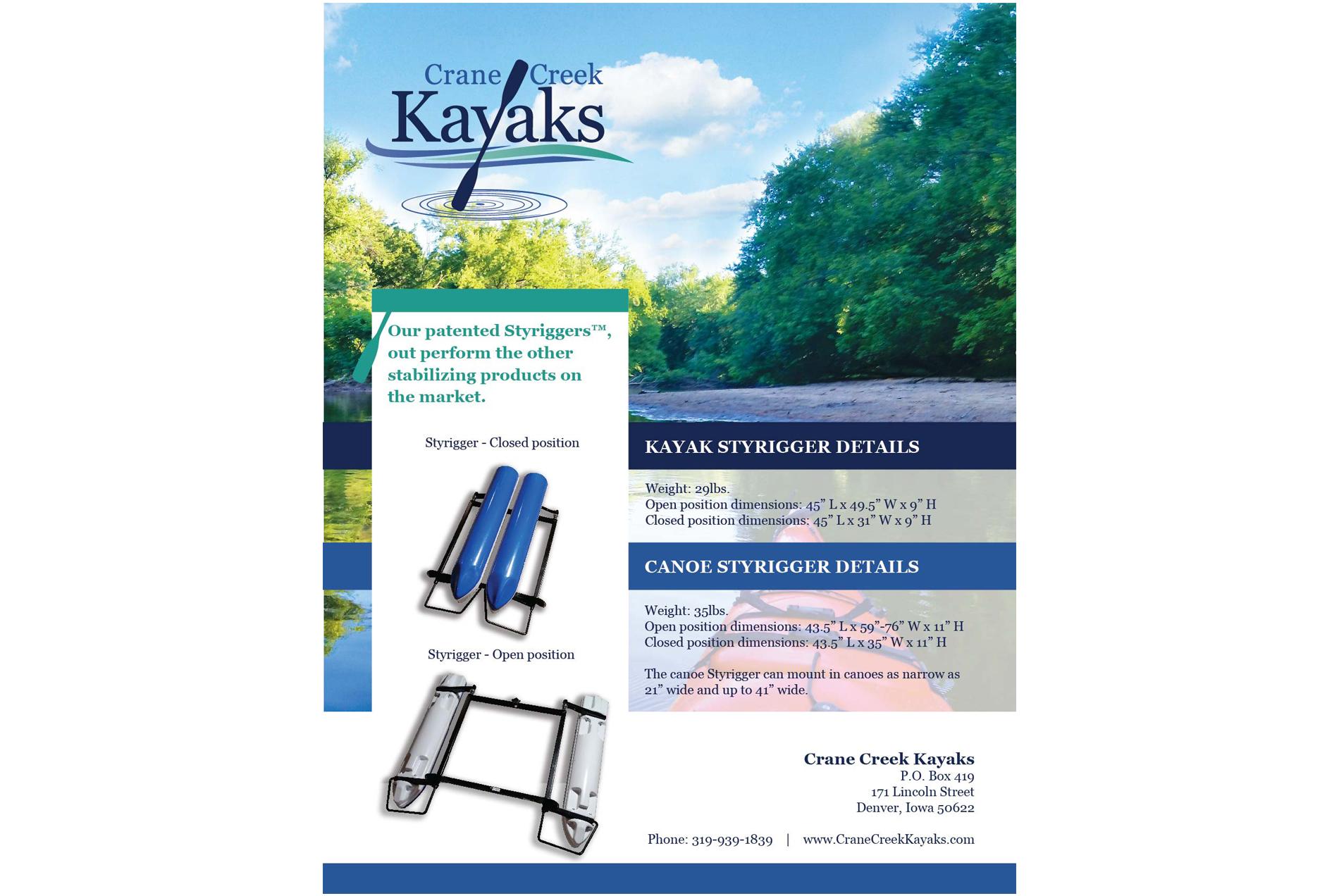 Crane Creek Kayaks - Print