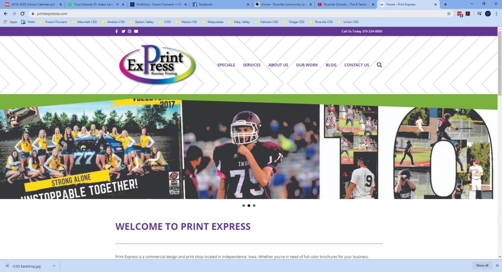 Print Express - Website