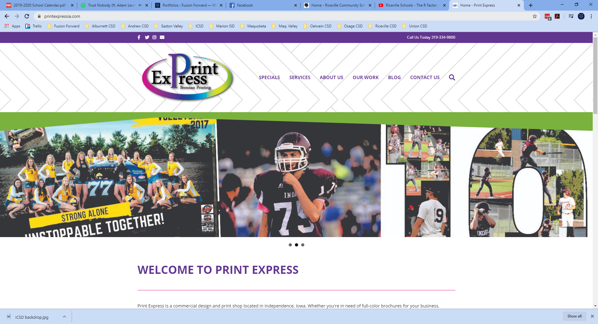 Print Express - Website