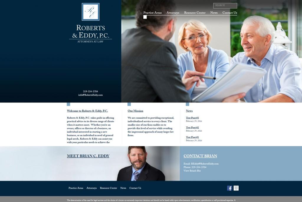 Roberts & Eddy, P.C. - Website